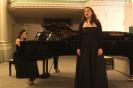 Ohude Khadr (Sopranistin) und Yao Yao Brandenburg (Pianistin)