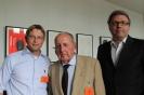 Oliver Jörg, Prof. Dr. Peter Scholl-Latour und Staatssekretär Dr. Marc-Jan Eumann