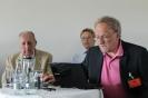 Generalsekräter Herr Bock trägt den Bericht über die Aktivitäten der letzten Jahre vor