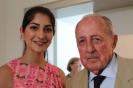 Waslat Hasrat-Nazimi mit Prof. Dr. Peter Scholl-Latour