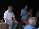Daniel Gerlach und Harald Moritz Bock diskutierten leidenschaftlich mit den Gästen