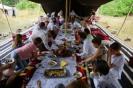 Ganz nach saudischer Tradition dinierten unsere Gäste